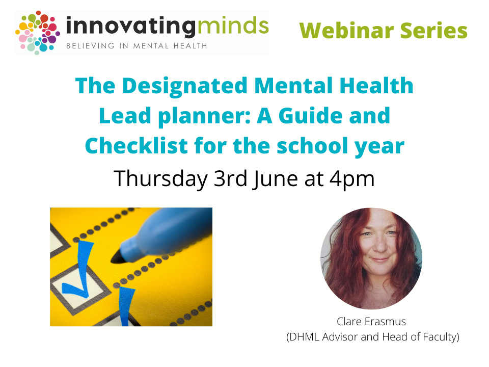 The Designated Mental Health Lead planner