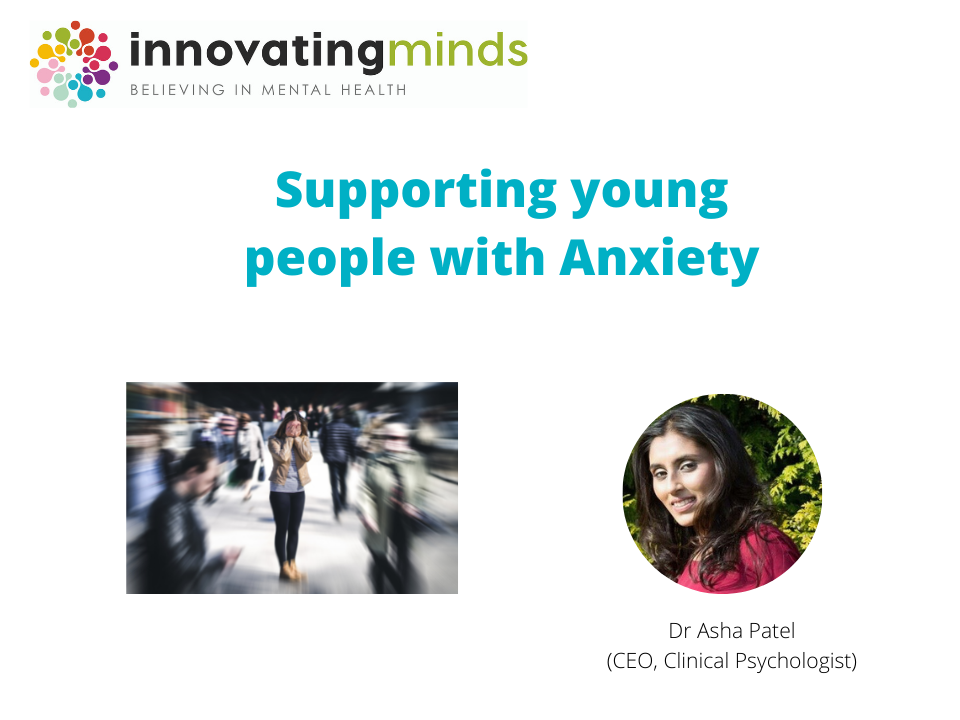 young people and anxiety